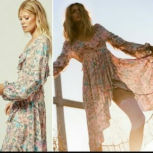 Spell and the Gypsy Sayulita Frill Maxi Dress XS